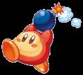Kirby Mass Attack Arte - Waddle Dee Bomba