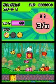 Kirby Mass Attack captura