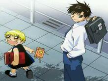 Kiyo y Zatch