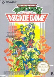 Teenage Mutant Ninja Turtles II - The Arcade Game - NES portada.jpg