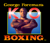 George Foreman's KO Boxing título