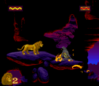 The Lion King SNES Captura 10