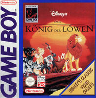 The Lion King portada GB EUR Disney Classic
