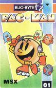 Pac-Man portada MSX