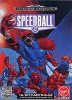 Speedball 2 portada Mega Drive EUR