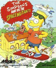 The Simpsons - Bart vs. the Space Mutants - Portada.jpg