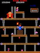 Donkey Kong - Fase 3