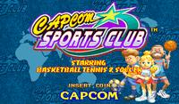 Capcom Sports Club - Título.png