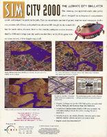 SimCity 2000 - portada back Acorn EUR
