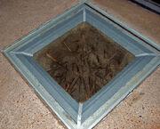 Punji stake pit