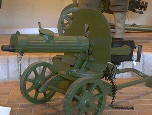 Maxim Maschinengewehr 1910