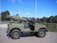 106mm land rover