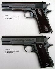 M1911 and M1911A1 pistols