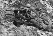 Browning M1919A4 Marine Namur Island