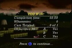 Quest Mode- End Screen