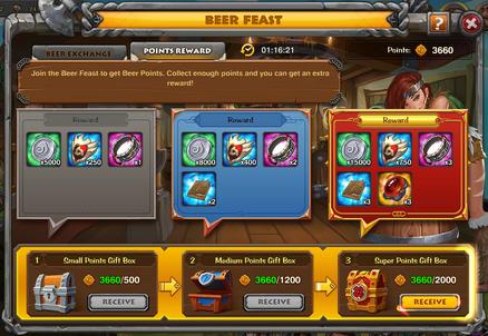 Beer Points Reward