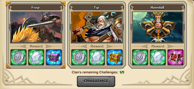 Clan trial