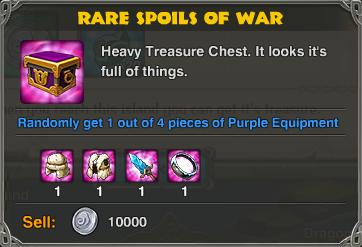 Rare Spoils of War