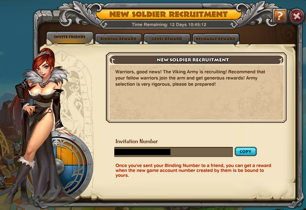 New Soldier Event