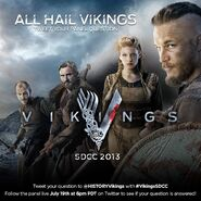 Vikings S01P04, SDCC