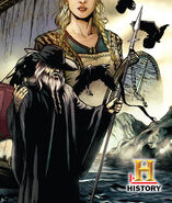 Odin at Vikings comics cover