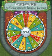 Level up wheel new