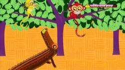 Croc and Monkeys