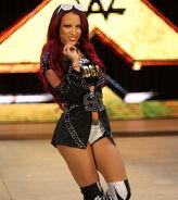 Sasha Banks @ Raw 7.13.15