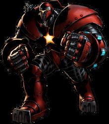 Crimson Dynamo Avengers Aliance 2 Render