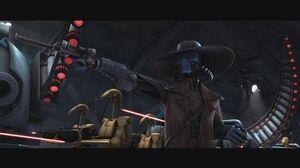 Star Wars The Clone Wars - Ahsoka, Anakin & Clones vs Cad Bane & Droids 1080p