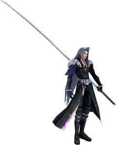 Dissidia Sephiroth Default Costume CG