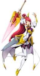 Izayoi (Centralfiction, Character Select Artwork)