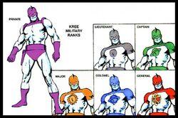 Kree ranks