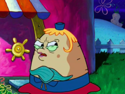 SpongeBob SquarePants Mrs. Puff in No Free Rides