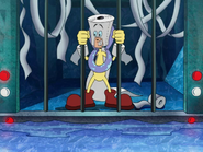 Toiletnator in KND Arctic Prison