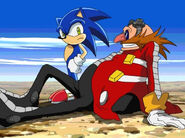 Sonic and Eggman allies