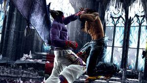 Devil-Kazuya-vs-Jin-Kazama
