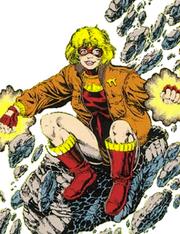 Terra Comic Design New Teen Titans