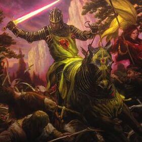 Stannis fighting wildlings