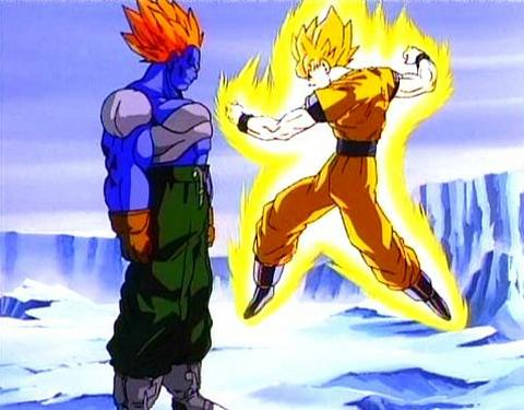 File:Super Saiyan Goku vs. Super Android 13.jpg