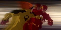 Johnny Quick vs. The Flash