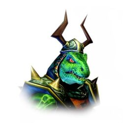 Face of General Scales