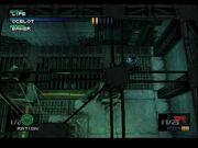 Revolver Ocelot confronting Snake
