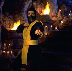 Scorpion from Mortal Kombat 1995