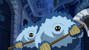 Blue Gorillas With Correct Colors in the Anime