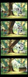 Puppetmon vs metaletemon 2 by avispaneitor-d4t68q5