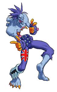 Darkstalkers 3 Lord Raptor