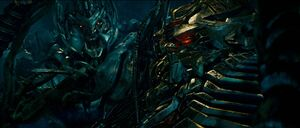 Megatron and The Fallen