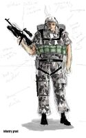 Infantry Grunt Concept Art