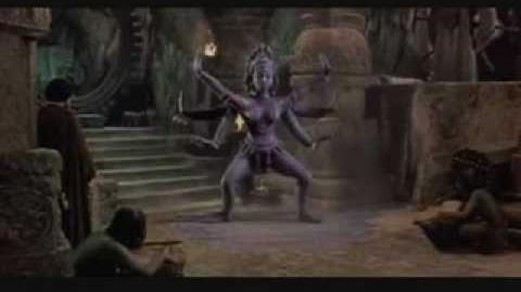 Kali Dances For Koura (The Golden Voyage of Sinbad)